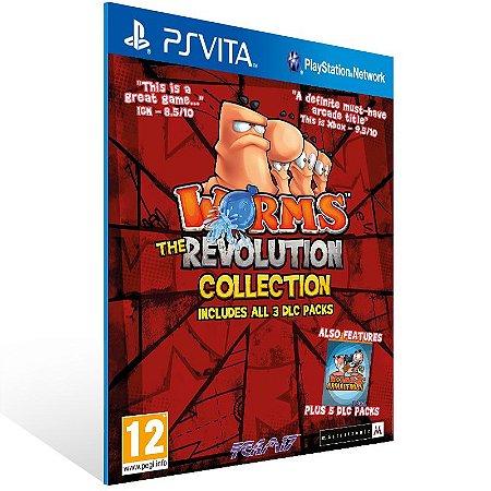 Ps Vita - Worms Revolution Extreme - Digital Código 12 Dígitos US