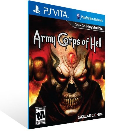 Ps Vita - Army Corps of Hell - Digital Código 12 Dígitos US