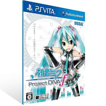 Ps Vita - Hatsune Miku: Project DIVA f - Digital Código 12 Dígitos US