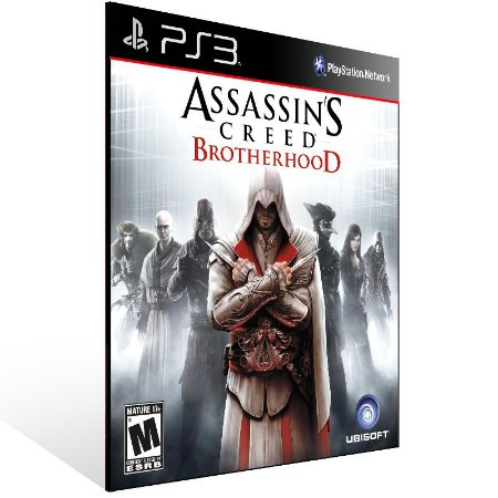 Ps3 - Assassins Creed Brotherhood - Digital Código 12 Dígitos US