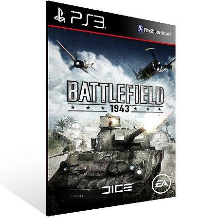 Ps3 - Battlefield 1943 - Digital Código 12 Dígitos US