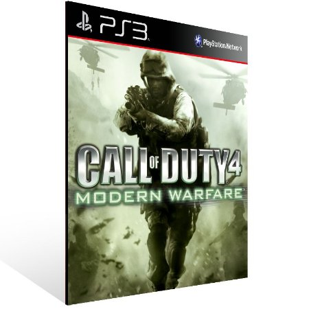 Ps3 - Call of Duty 4 Modern Warfare Bundle - Digital Código 12 Dígitos US