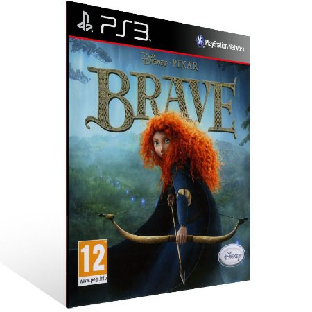 Ps3 - Disney Pixar Brave - Digital Código 12 Dígitos US