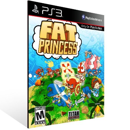Ps3 - Fat Princess - Digital Código 12 Dígitos US