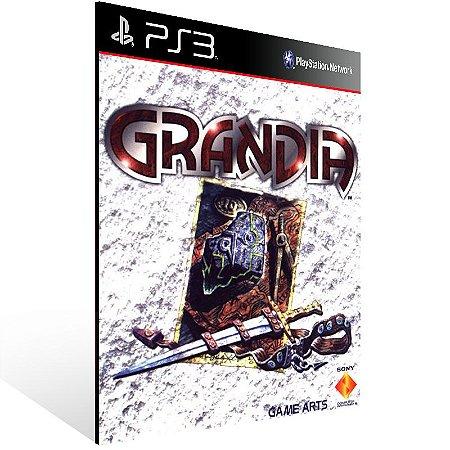 Ps3 - Grandia (PSOne Classic) - Digital Código 12 Dígitos US