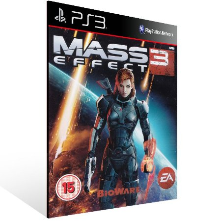 Ps3 - Mass Effect 3 - Digital Código 12 Dígitos US