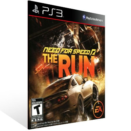 Ps3 - Need For Speed The Run - Digital Código 12 Dígitos US