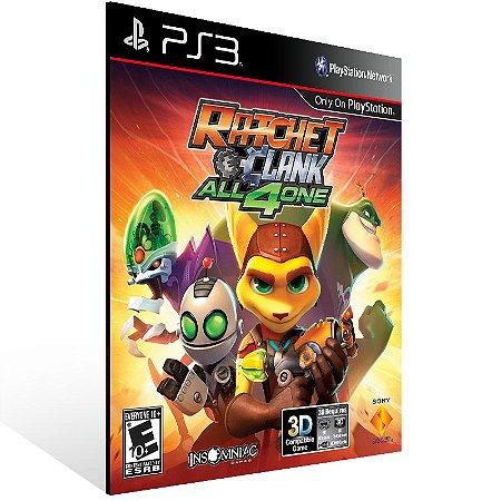 Ps3 - Ratchet & Clank: All 4 One - Digital Código 12 Dígitos US
