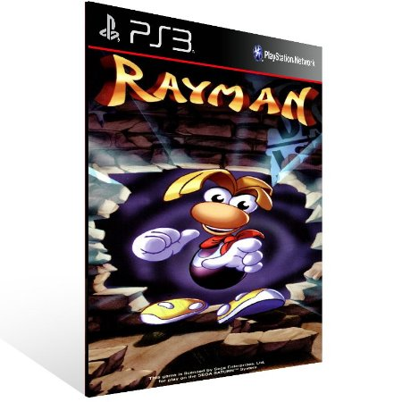 Ps3 - Rayman (PSOne Classic) - Digital Código 12 Dígitos US