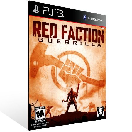 Ps3 - Red Faction: Guerrilla - Digital Código 12 Dígitos US