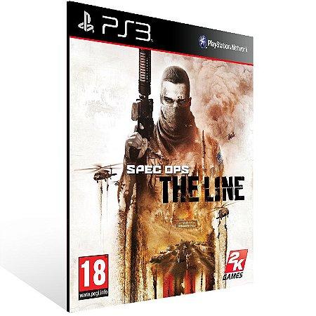 Ps3 - Spec Ops: The Line - Digital Código 12 Dígitos US
