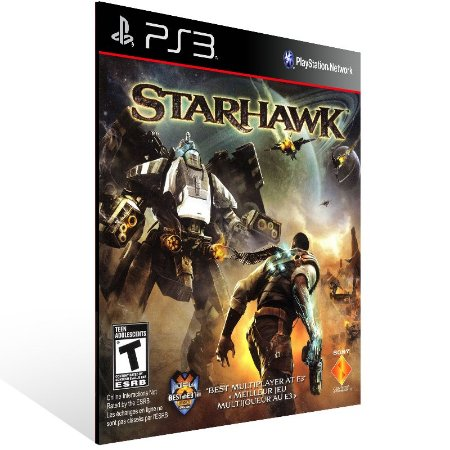 Ps3 - Starhawk - Digital Código 12 Dígitos US