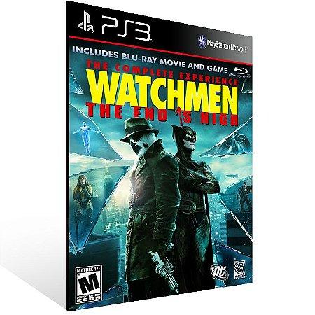 Ps3 - Watchmen: The End is Nigh Part 2 - Digital Código 12 Dígitos US