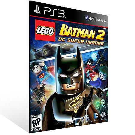 Ps3 - LEGO Batman 2: DC Super Heroes - Digital Código 12 Dígitos US