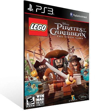 Ps3 - LEGO Pirates of the Caribbean: The Video Game - Digital Código 12 Dígitos US