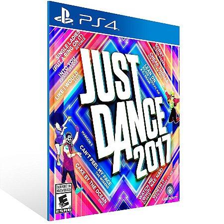 Ps4 - Just Dance 2017 - Digital Código 12 Dígitos US
