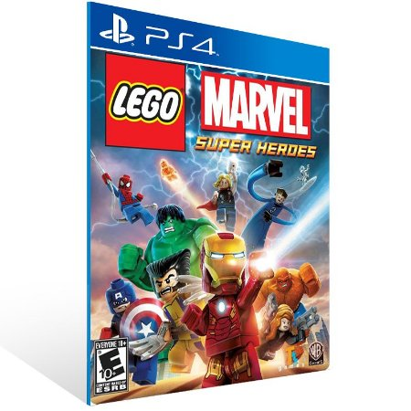 Ps4 - LEGO Marvel Super Heroes - Digital Código 12 Dígitos US