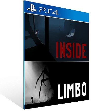 PS4 - LIMBO & INSIDE Bundle - Digital Código 12 Dígitos US