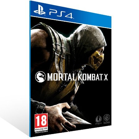Ps4 - Mortal Kombat X - Digital Código 12 Dígitos US