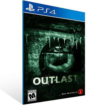 Ps4 - Outlast - Digital Código 12 Dígitos US