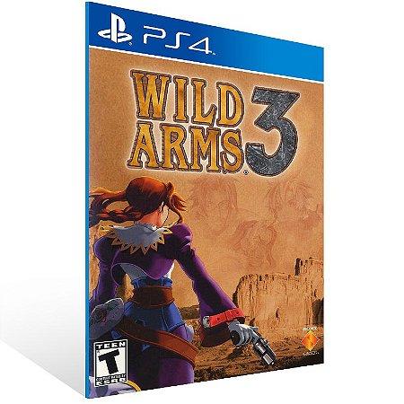 PS4 - Wild Arms 3 - Digital Código 12 Dígitos US