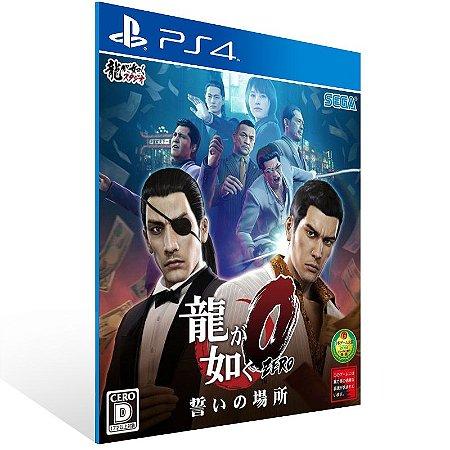 PS4 - Yakuza 0 - Digital Código 12 Dígitos US