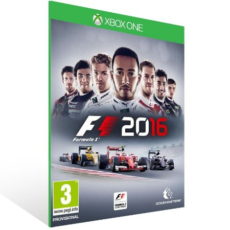 Xbox One - F1 2016 - Digital Código 25 Dígitos US