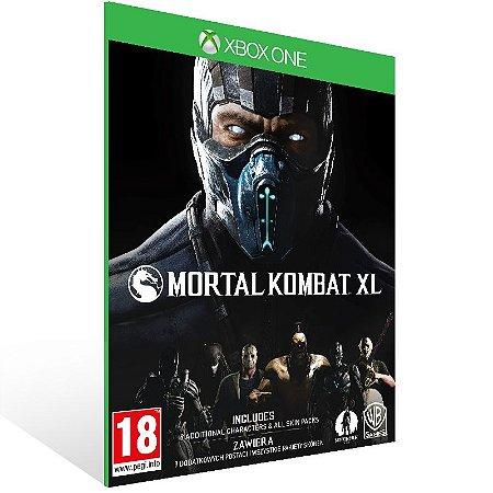 Xbox One - Mortal Kombat XL - Digital Código 25 Dígitos US