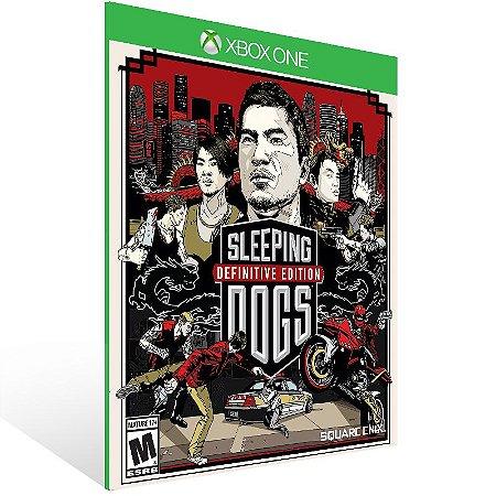 Xbox One - Sleeping Dogs Definitive Edition - Digital Código 25 Dígitos US