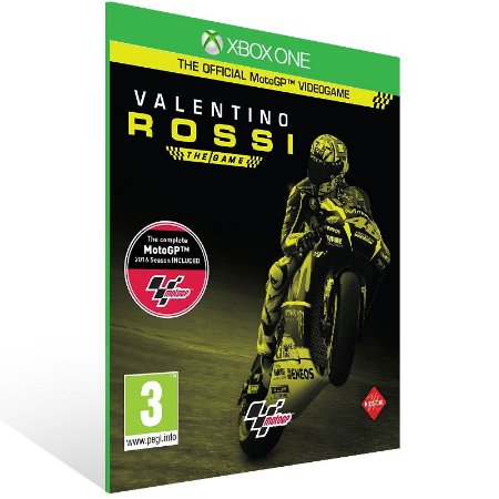 Xbox One - Valentino Rossi The Game - Digital Código 25 Dígitos US