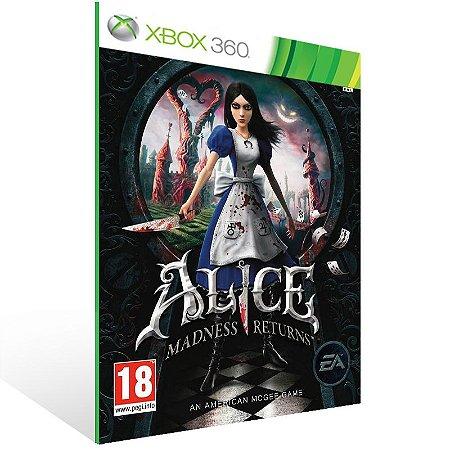 Xbox 360 - Alice: Madness Returns - Digital Código 25 Dígitos US