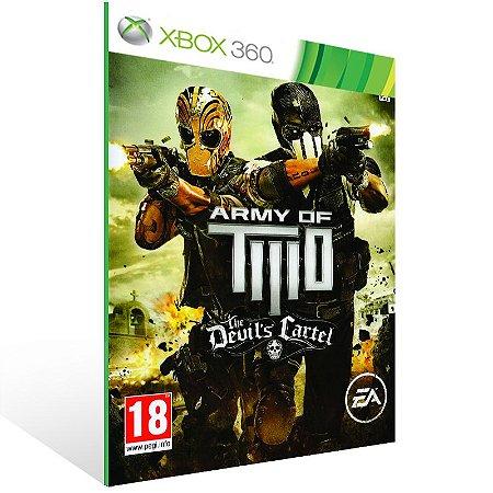Xbox 360 - Army of TWO The Devil's Cartel - Digital Código 25 Dígitos US