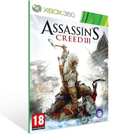 Xbox 360 - Assassin's Creed III - Digital Código 25 Dígitos US