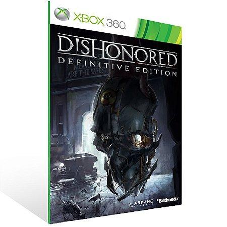 Xbox 360 - Dishonored - Digital Código 25 Dígitos US