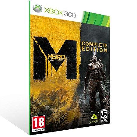 Xbox 360 - Metro: Last Light - Digital Código 25 Dígitos US