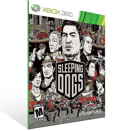 Xbox 360 - Sleeping Dogs - Digital Código 25 Dígitos US