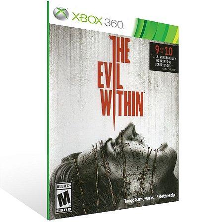Xbox 360 - The Evil Within - Digital Código 25 Dígitos US