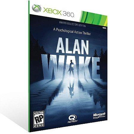 Xbox 360 - Alan Wake - Digital Código 25 Dígitos US