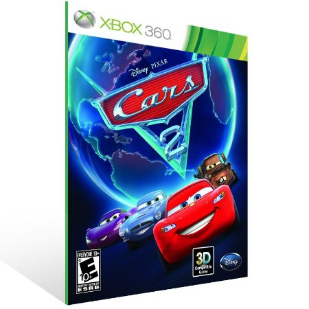 Xbox 360 - Cars 2: The Video Game - Digital Código 25 Dígitos US