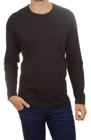 Camiseta Algodão - Manga Longa