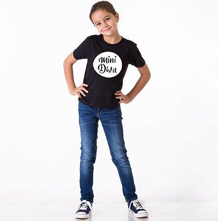 Camiseta Mini Diva - Filha