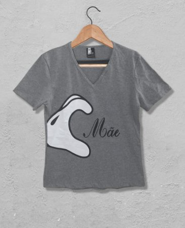 Camiseta Mãe Mickey Gola V