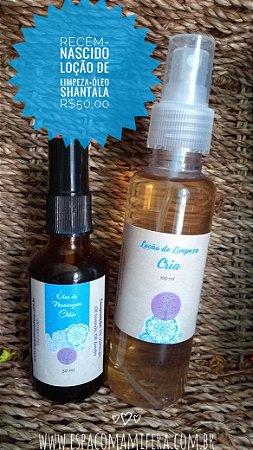 Óleo de massagem CRIA + Loção Troca Fralda