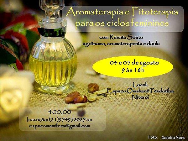 Curso Aromaterapia e Fitoterapia para os Ciclos Femininos - Niterói