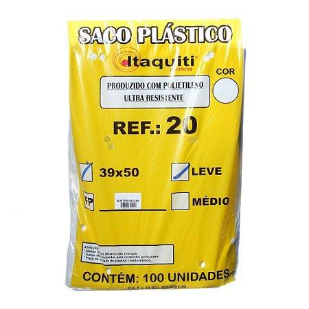 SACO PARA LIXO COM 100 unid