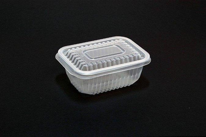 Embalagem Retangular Freezer e Microondas Starpack PP 01 200ml c/450un