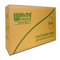 Lençol Hospitalar Branco White Paper