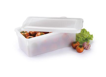 Caixa Organizadora Plástico com Tampa Branca Bioprátika 5 Litros
