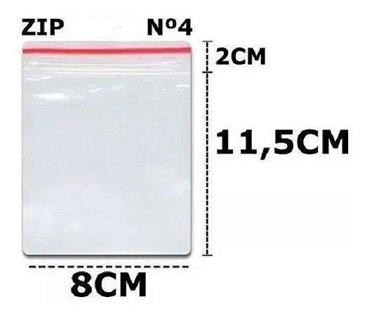 SACO ZIP N 4 8,5X12 C/100 UN