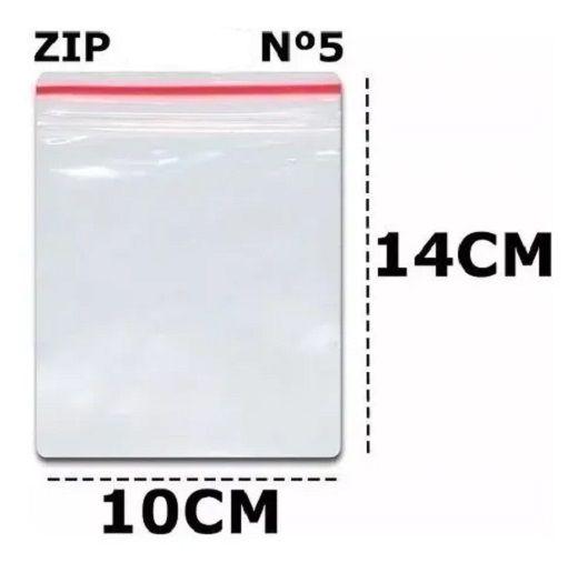 SACO ZIP N 5 10X14,3 C/ 100 UN